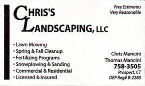 Click to see Chris's Landscaping, Llc Details